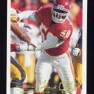 1994 FACT Fleer Shell Football #44 Derrick Thomas - Kansas City Chiefs