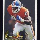 1994 FACT Fleer Shell Football #39 Shannon Sharpe - Denver Broncos