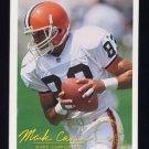 1994 FACT Fleer Shell Football #36 Mark Carrier - Cleveland Browns