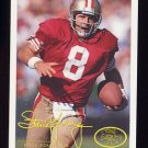 1994 FACT Fleer Shell Football #27 Steve Young - San Francisco 49ers
