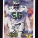 1994 FACT Fleer Shell Football #24 Byron Evans - Philadelphia Eagles