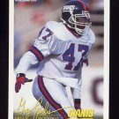 1994 FACT Fleer Shell Football #22 Greg Jackson - New York Giants