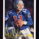 1994 FACT Fleer Shell Football #20 Drew Bledsoe - New England Patriots