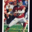 1994 FACT Fleer Shell Football #14 Joe Montana - Kansas City Chiefs