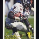 1994 FACT Fleer Shell Football #03 Erric Pegram - Atlanta Falcons