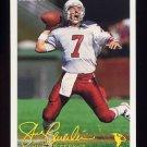 1994 FACT Fleer Shell Football #02 Steve Beuerlein - Arizona Cardinals