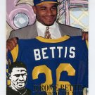 1994 Fleer Football Jerome Bettis Inserts #02 Jerome Bettis - Los Angeles Rams