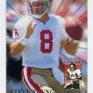 1994 Fleer Football League Leaders #10 Steve Young - San Francisco 49ers