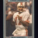 1990 Action Packed Rookie Update Football #65 Chris Chandler - Tampa Bay Buccaneers