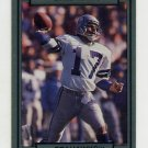 1990 Action Packed Football #253 Dave Krieg - Seattle Seahawks