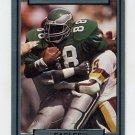 1990 Action Packed Football #206 Keith Jackson - Philadelphia Eagles