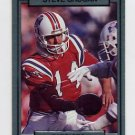 1990 Action Packed Football #163 Steve Grogan - New England Patriots