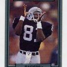 1990 Action Packed Football #124 Tim Brown - Los Angeles Raiders