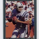 1990 Action Packed Football #104 Chris Chandler - Indianapolis Colts