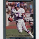 1990 Action Packed Football #063 John Elway - Denver Broncos