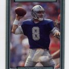1990 Action Packed Football #051 Troy Aikman - Dallas Cowboys