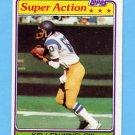 1981 Topps Football #524 Kellen Winslow SA - San Diego Chargers NM-M