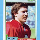 1981 Topps Football #513 Tim Mazzetti - Atlanta Falcons