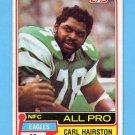 1981 Topps Football #480 Carl Hairston - Philadelphia Eagles VgEx