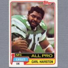 1981 Topps Football #480 Carl Hairston - Philadelphia Eagles Vg
