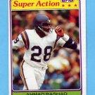 1981 Topps Football #457 Ahmad Rashad SA - Minnesota Vikings