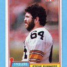 1981 Topps Football #436 Steve Furness - Pittsburgh Steelers