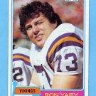 1981 Topps Football #402 Ron Yary - Minnesota Vikings