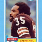 1981 Topps Football #398 Calvin Hill - Cleveland Browns NM-M