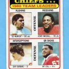 1981 Topps Football #394 Kansas City Chiefs TL / Gary Barbaro / Art Still