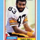 1981 Topps Football #351 Theo Bell - Pittsburgh Steelers NM-M