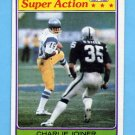 1981 Topps Football #312 Charlie Joiner SA - San Diego Chargers