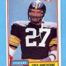 1981 Topps Football #297 Greg Hawthorne - Pittsburgh Steelers