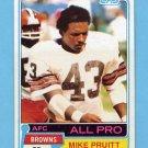 1981 Topps Football #260 Mike Pruitt - Cleveland Browns