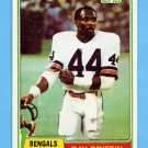 1981 Topps Football #257 Ray Griffin RC - Cincinnati Bengals