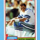 1981 Topps Football #229 Butch Johnson - Dallas Cowboys