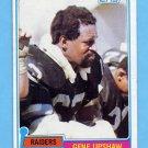 1981 Topps Football #219 Gene Upshaw - Oakland Raiders