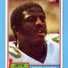 1981 Topps Football #211 Bruce Harper - New York Jets