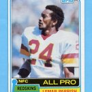 1981 Topps Football #210 Lemar Parrish - Washington Redskins