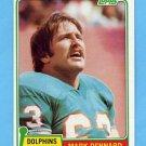 1981 Topps Football #209 Mark Dennard - Miami Dolphins