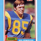 1981 Topps Football #205 Jack Youngblood - Los Angeles Rams