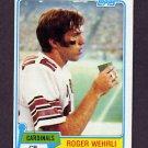 1981 Topps Football #195 Roger Wehrli - St. Louis Cardinals Vg