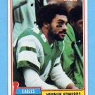 1981 Topps Football #179 Herman Edwards - Philadelphia Eagles NM-M