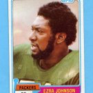 1981 Topps Football #168 Ezra Johnson - Green Bay Packers