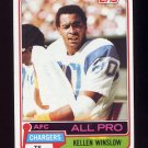 1981 Topps Football #150 Kellen Winslow RC - San Diego Chargers Vg