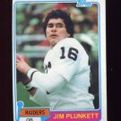 1981 Topps Football #135 Jim Plunkett - Oakland Raiders VgEx