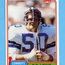 1981 Topps Football #134 D.D. Lewis - Dallas Cowboys