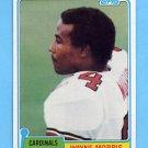 1981 Topps Football #122 Wayne Morris - St. Louis Cardinals