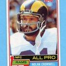 1981 Topps Football #120 Nolan Cromwell - Los Angeles Rams NM-M