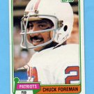 1981 Topps Football #119 Chuck Foreman - New England Patriots NM-M