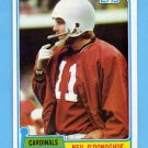 1981 Topps Football #096 Neil O'Donoghue - St. Louis Cardinals
